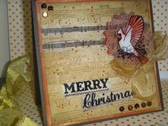 HandmadebyRenuka: Christmas card day 25 -2014
