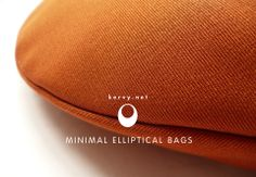 Kervy elliptical bags work in harmony with your body. kervy.net