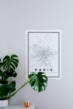 Mapiful Custom Minimal Prints