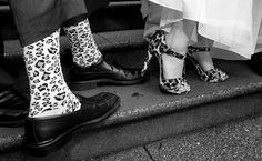 Leopard on wedding day!