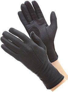 Isotoner Women's Spandex Cold Weather Stretch Gloves with Warm Fleece Lining Black Canary Costume, Cold Weather Gloves, Black Gloves, Mitten Gloves, Women's Gloves, Mittens, Classic, How To Wear, Clothes