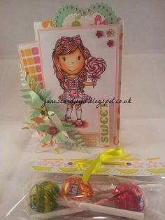 The Paper Nest: Heart Lollipop Avery