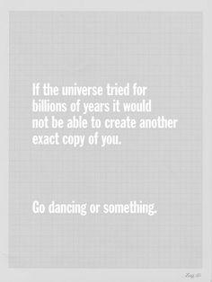 ... dancing yet?
