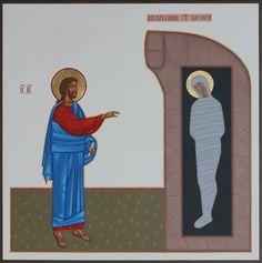 "Saatchi Art Artist Danylo Movchan; Painting, ""The resurrection of Lazarus (SOLD)"" #art"