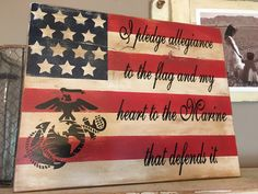 Marine Corps Flagge von iSTICKerTHAT auf Etsy