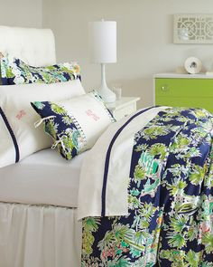 Lilly Pulitzer® Sister Florals Comforter Cover Collection - Garnet Hill