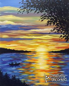 Sunset Fishing | Creatively Uncorked | http://creativelyuncorked.com | Creatively Uncorked | http://creativelyuncorked.com
