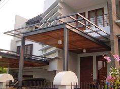 Kanopi rumah minimalis kanopi house