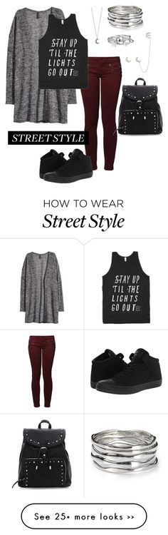 """Untitled #126"" by woahhorse on Polyvore featuring Kaporal, H&M, Converse…"