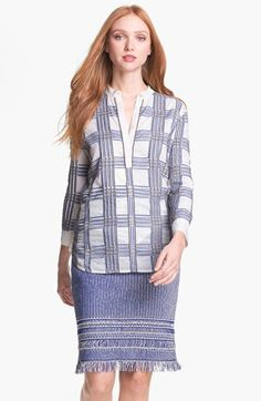 Tory Burch 'Faye' Embellished Tunic available at #Nordstrom