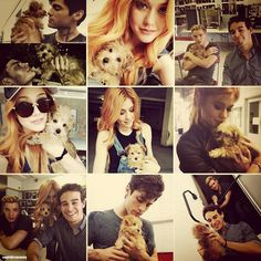 Sophie is a lucky dog.. #Shadowhunters