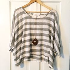 BCBGeneration butterfly top Like new condition! Size XS but is very loose fitting and can definitely fit up to a medium! BCBGeneration Tops
