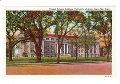 University of Iowa  Iowa City Vintage by PicturesFromThePast, $4.25