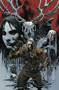 Witcher comic series from Dark Horse arrives in March | VG247