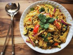 Risotto de quinoa aux petits légumes - Silit - le blog