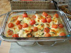 Pierś z kurczaka zapiekana z mozzarellą i pomidorami Tortellini, Lasagna, Quiche, Cauliflower, Macaroni And Cheese, Mozzarella, Vegetables, Breakfast, Ethnic Recipes