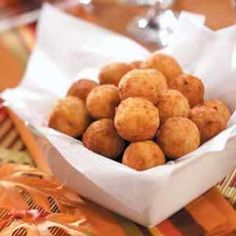Fried bacon, cheddar & mashed potato balls...shut the front door...