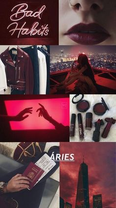 Wallpaper Lockscreen Aries ♈ – My Pin Page Aries Aesthetic, Aesthetic Colors, Aesthetic Collage, Aesthetic Pictures, Aries Wallpaper, Wallpaper Lockscreen, Wine Wallpaper, Color Collage, Provocateur