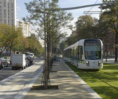 Paris, new 10 tram lines. As decided by the Minister for Paris under former Président Sarkozy