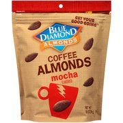 Blue Diamond Mocha Coffee Almonds, 10 oz