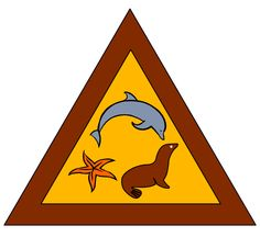 Marine Mammal Brownie Try-It  (Girl Scouts of Greater Los Angles).  Requirements here: http://www.girlscoutsla.org/documents/GSGLA_Marine_Mammal_Badge-_Brownies.pdf