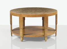 Jean Dunand | lot | Sotheby's TABLE, VERS 1925 AN EGGSHELL AND LACQUER TABLE, CIRCA 1925. BRANDED AND NUMBERED