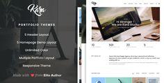 Kara - Simple Portfolio Wordpress Theme • Download theme ➝…