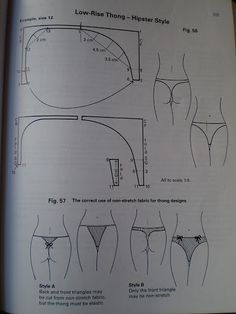 patterncutting for lingerie beachwear and leisurewear - blanca estela cifuentes flores - Álbuns da web do Picasa