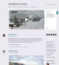 Free Responsive Sundance Video Theme for #WordPress