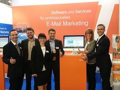 Gute Stimmung & Interessante Gespräche @COREACHmesse #cros15 #emailmarketing