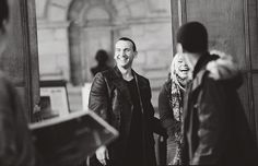 Christopher, Billie, and Noel Behind the scenes of Doctor Who