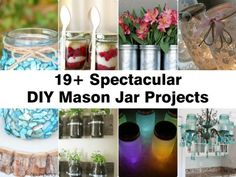 Mason jars make great storage as well as a design material in many DIY projects. This time, we teach you on how to make mason jar solar lights. [LEARN HOW] Diy Projects Videos, Craft Projects For Kids, Crafts For Teens, Craft Videos, Projects To Try, Recycling Projects, Adult Crafts, Mason Jars, Bottles And Jars