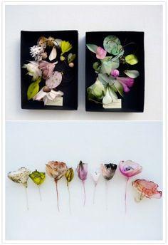 Lyndie Dourthe paper flowers
