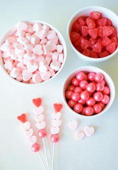 Valentine Candy Kabobs   Happy Wish Company