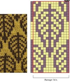 Jacquard floral motifs 6 Jacquard floral motifs 6 Always wanted to figure out how to knit, nevertheless unsure the place to start? This kind of O. Fair Isle Knitting Patterns, Knitting Charts, Knitting Stitches, Knitting Designs, Knitting Yarn, Crochet Chart, Filet Crochet, Tejido Fair Isle, Motif Fair Isle