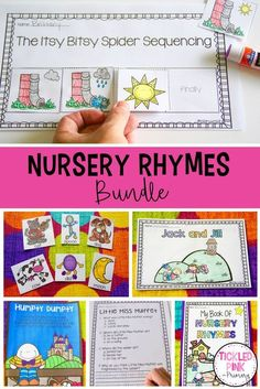 Nursery Rhymes are a great way to start off the year to help students learn patterns in text, build fluency, and increase confidence in reading! Even the shyest students will read along with the nursery rhymes - they are easy for young kindergarten and preschool students to learn. Click through for a few free activities you can use in your classroom when introducing nursery rhymes! #nurseryrhymes #preschool #kindergarten