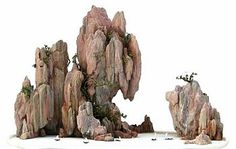 Penjing with Rocks - Chinese 'bonsai' are known as Penjing. They often include the use of rocks and stones in their design. When using rocks, they may be a plant with root over rock, rocks in landscape or even rocks alone!... The Art of Penjing: A Chinese Renaissance... http://www.artofbonsai.org/feature_articles/penjingrenaissance.php