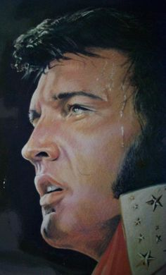 (54) ELVIS PRESLEY (SOLD) by TOMHEYBURN on DeviantArt