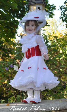 Toddler Mary Poppins Jolly Holiday Halloween Costume