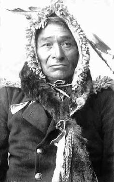 Chief Flatmouth The Second c1898.