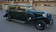 1935 Brewster Convertible Sedan