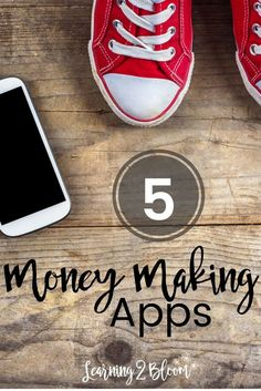 5 Money Making Apps. These are great ideas to make money on the side to help pay off debt or ear a little extra for something you're saving for. Give them a try today!