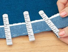 HarrietCarter.com: Household Helpers | Problem Solvers | Hem Clips. For hemming skirts, dresses and pants.