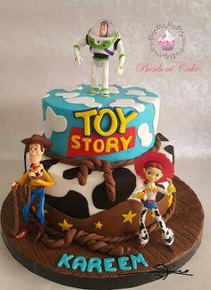 Toy story cake - Cake by Bonboni Cake Fête Toy Story, Toy Story Baby, Toy Story Theme, Toy Story Cakes, Toy Story Birthday Cake, 4th Birthday Cakes, Birthday Ideas, Bolos Toy Story, Woody Cake