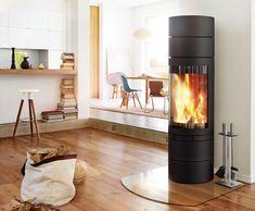 Kaminofen elements-rund - skantherm - Wir sind Feuer und Flamme