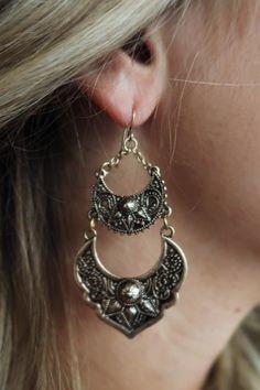 Negros aretes gotas-ohrhänger elegante Edel Gothic bronce colores Goth