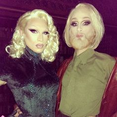 Miss Fame and Mathu Aderson