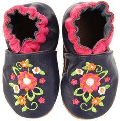 Amazon.com: Robeez Soft Soles Elegant Blossom Pre-Walker (Infant/Toddler/Little Kid): Shoes