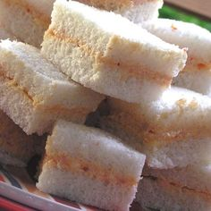 Sandwich de Mezcla (We call them birthday sandwichitos. The birthday is not complete without these) Puerto Rican Dishes, Puerto Rican Cuisine, Puerto Rican Recipes, Cuban Recipes, Desert Recipes, Boricua Recipes, Majarete Recipe, My Favorite Food, Favorite Recipes
