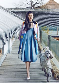 """leahcultice: """" Tian Yi by Zack Zhang for Vogue China April 2014 """""""